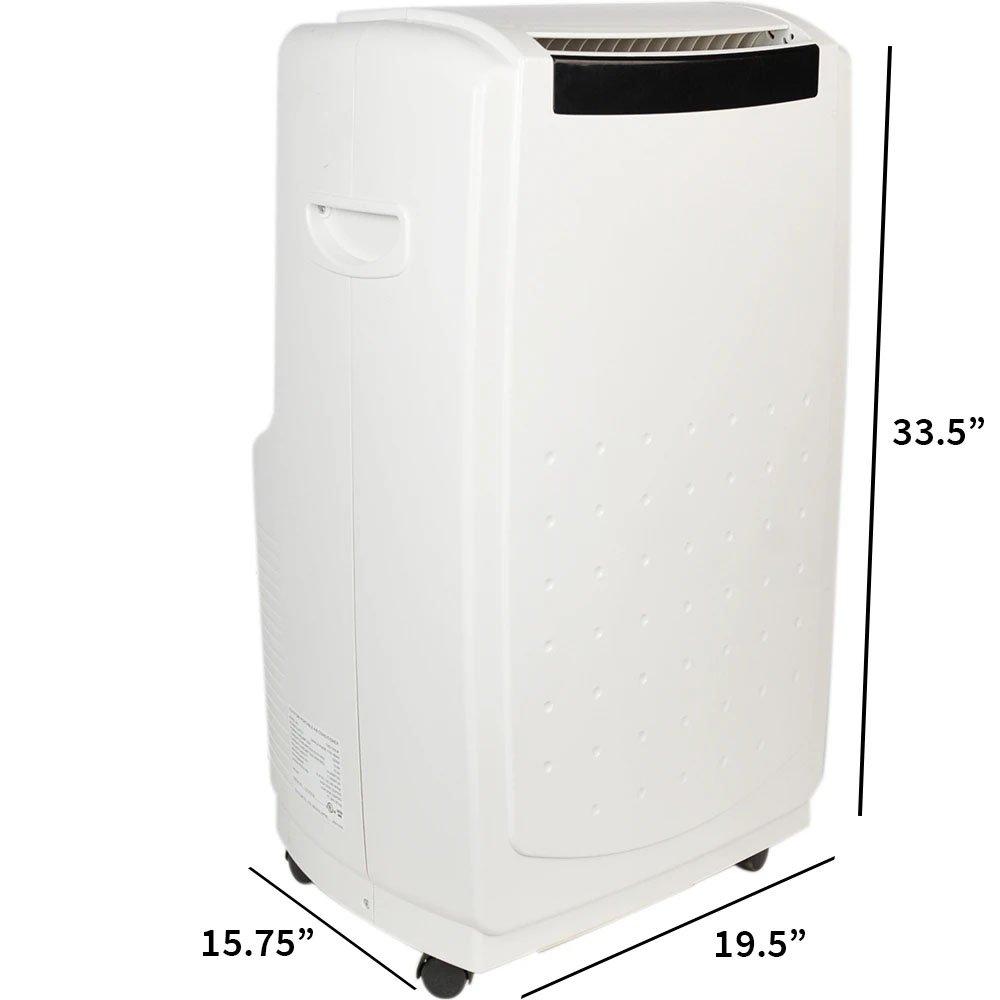 Toyotomi Portable AC Heat Pump TAD-t40lw dimensions