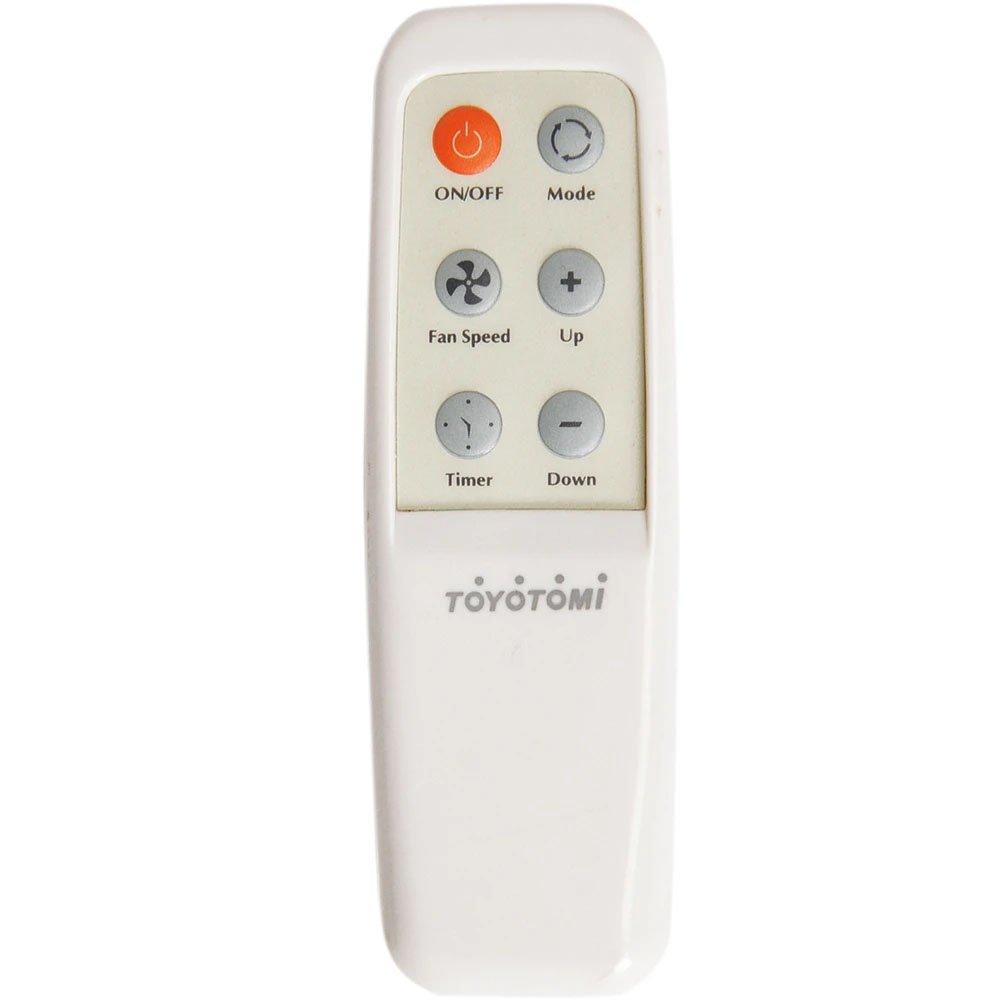 Toyotomi Portable AC Heat Pump TAD-t40lw Remote Control